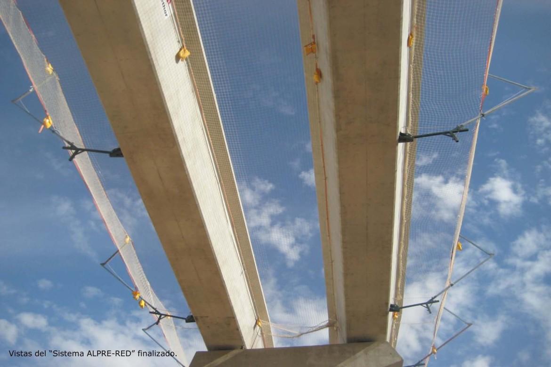 Viaductos: protecciones colectivas