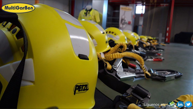 Formación práctica sobre Seguridad Trabajos en Altura